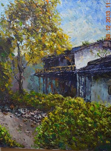 青春中国梦 油画
